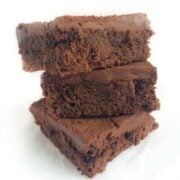 Gluten Free Brownies with Coffee Frosting - The Lemon Bowl