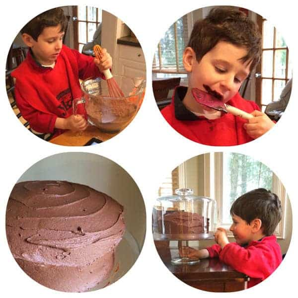 Kid Cake Baking - The Lemon Bowl
