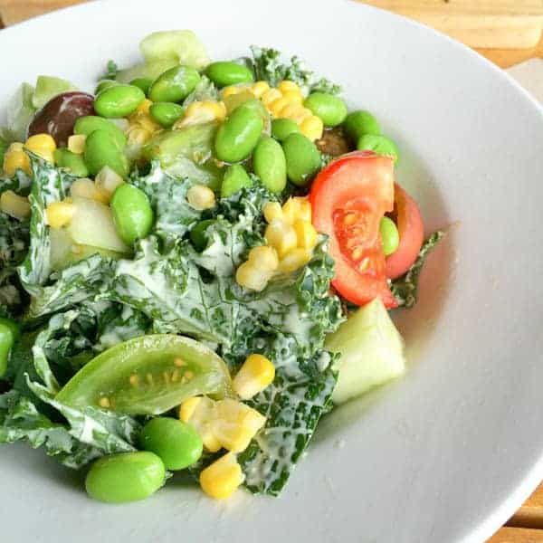 Edison Kale Salad - The Lemon Bowl