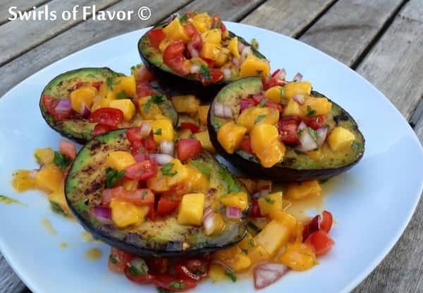 Grilled-Avocados-with-Mango-Salsa-600x416 SWIRLS OF FLAVOR
