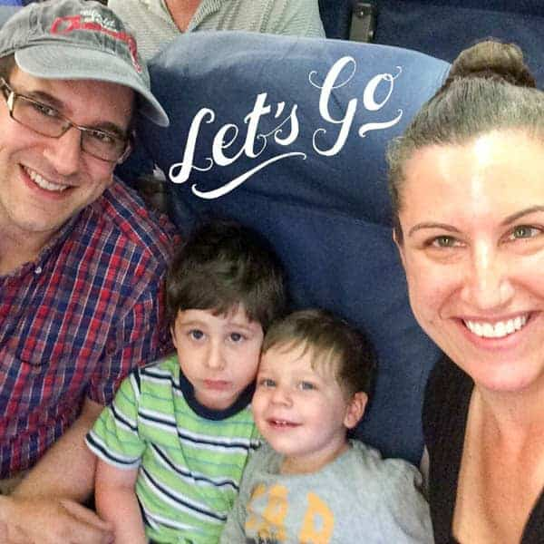 Let's Go Airplane Selfie - The Lemon Bowl