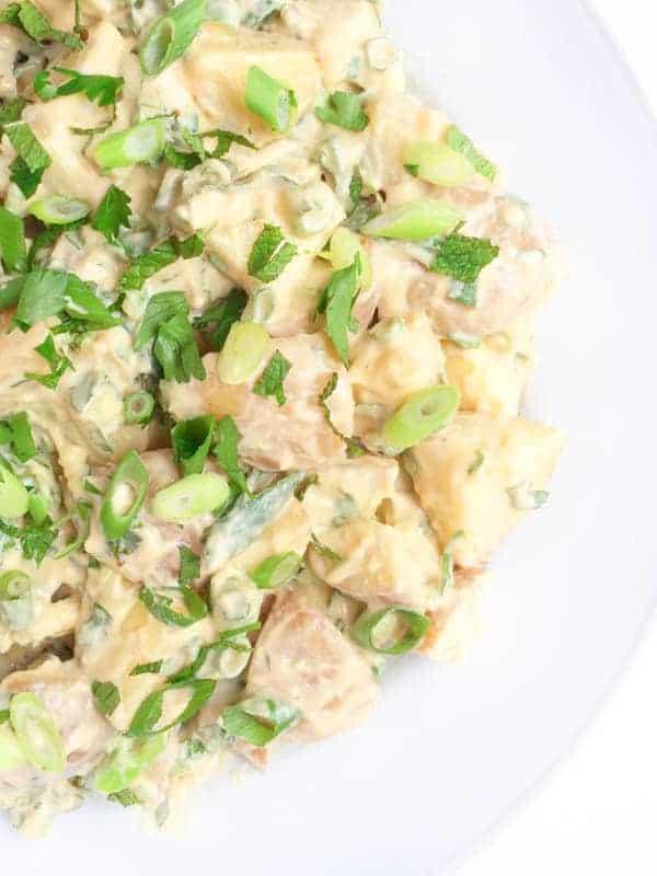 Vegan Potato Salad- The Lemon Bowl