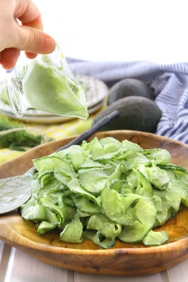 cucumber-noodle-salad-with-avocado-dill-dressing-8_ HEALTHY MAVEN