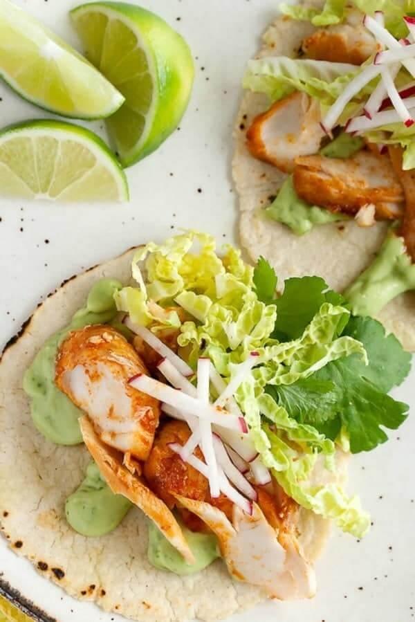 spicy fish tacos CRUMB BLOG