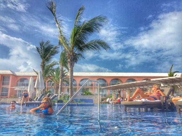 Infinity Pool and Hotel - The Lemon Bowl