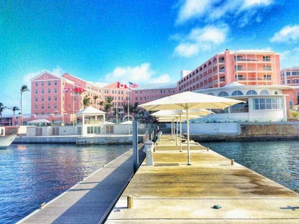 Marina View of Hotel - The Lemon Bowl