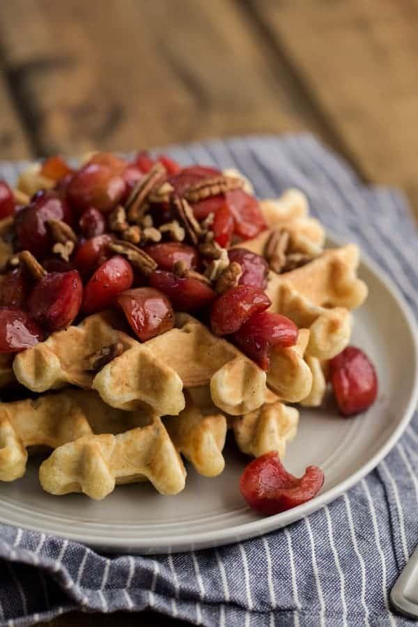 NATURALLY ELLA Vanilla-Bean-Cherry-Waffles-2