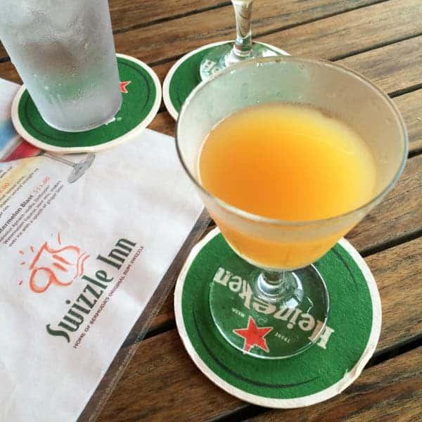 Rum Swizzle - The Lemon Bowl