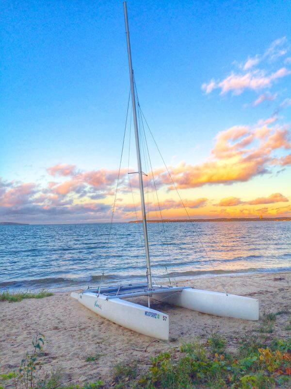 Sail Boat Northern Michigan - The Lemon BOwl