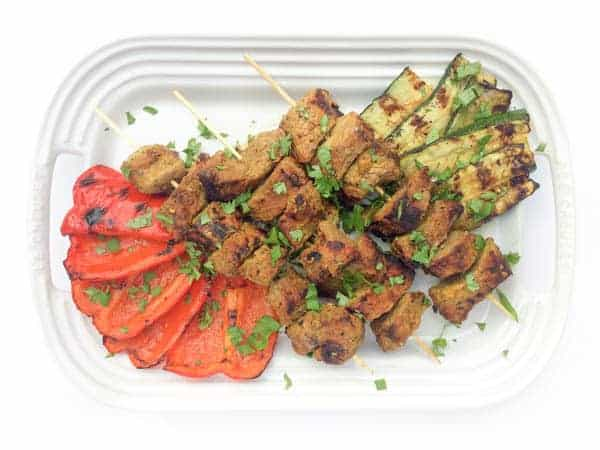 Beef Kabobs with Indian-Spiced Marinade - The Lemon Bowl