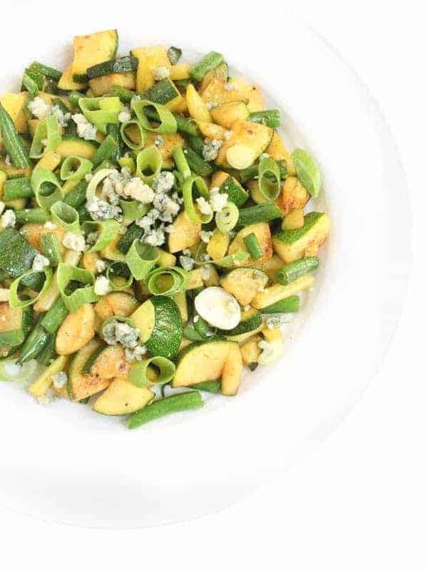 Green Bean Zucchini Saute - The Lemon Bowl