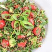 Quinoa Tabbouleh Recipe - The Lemon Bowl