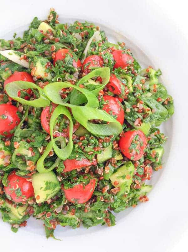 Quinoa Tabbouleh Recipe - The Lemon Bowl