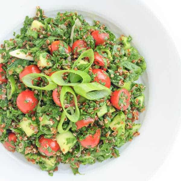 Quinoa Tabbouleh - The Lemon Bowl