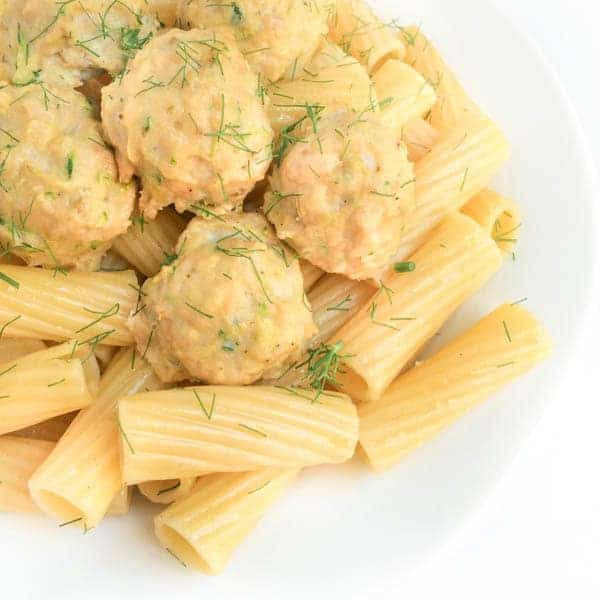 Spicy Chicken Meatballs with Fennel Frawns - The Lemon Bowl