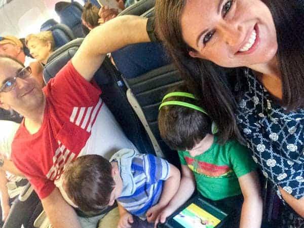 Airplane Family Photo - The Lemon Bowl
