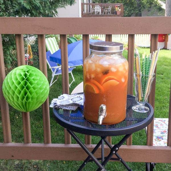 Apple Cider Punch - The Lemon Bowl