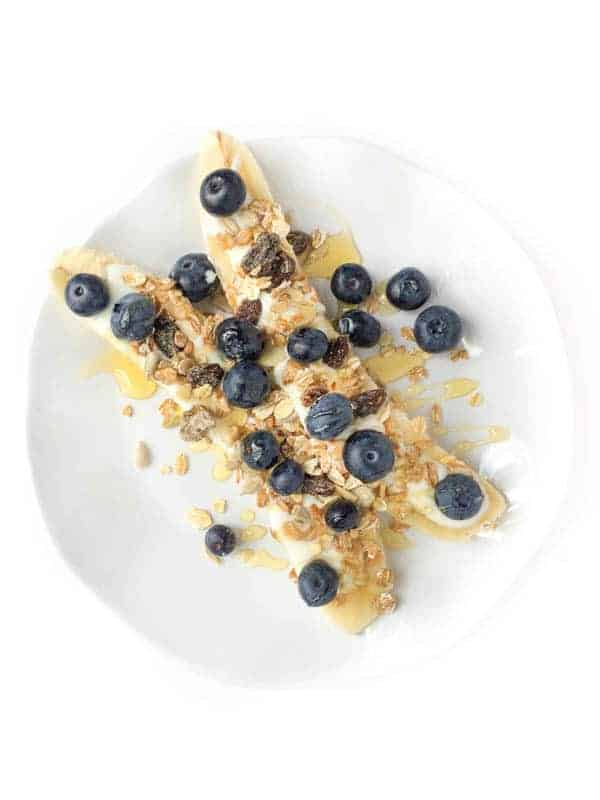 Banana Yogurt Parfaits with Muesli - The Lemon Bowl