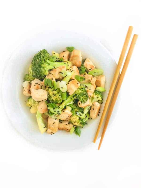 Chicken and Broccoli - The Lemon Bowl