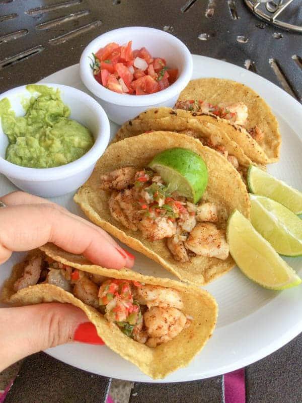 Fish Tacos - The Lemon Bowl