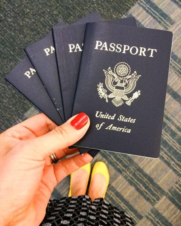 Passports - The Lemon Bowl