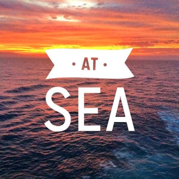 At Sea - The Lemon Bowl