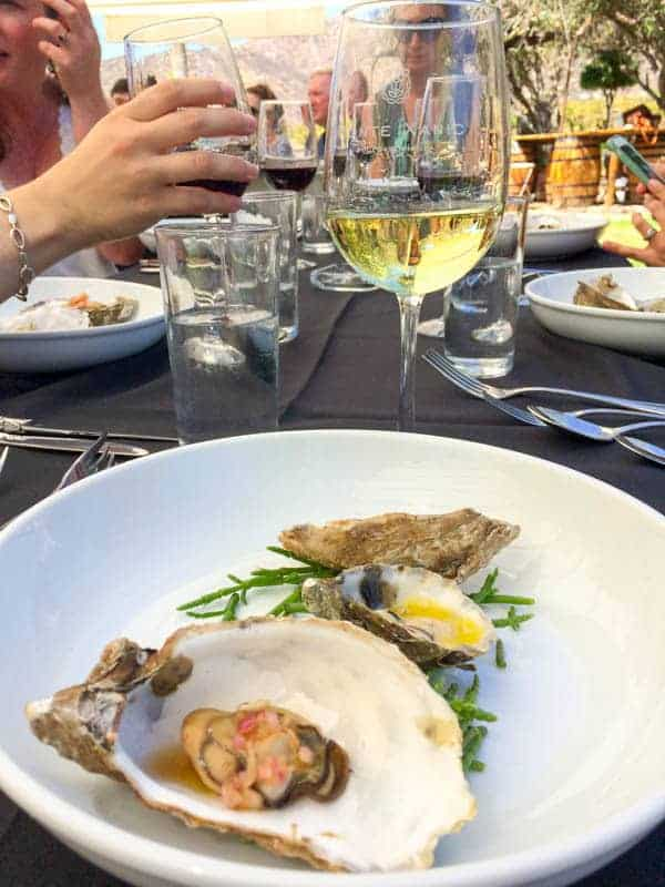 Ensenada Oysters - The Lemon Bowl