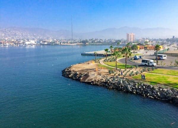 Ensenada Port - The Lemon Bowl