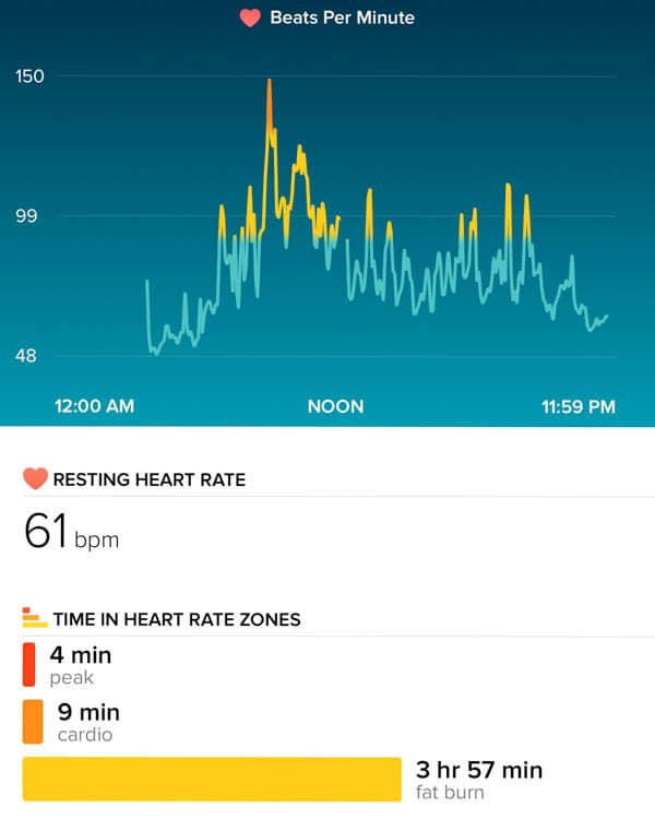 Fitbit HR Charge - The Lemon Bowl