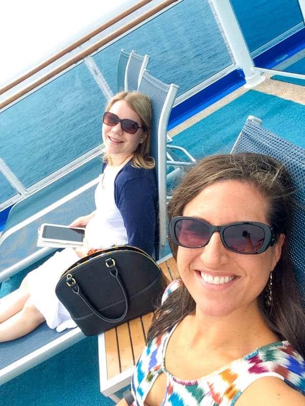Liz Briana Pool Selfie - The Lemon Bowl