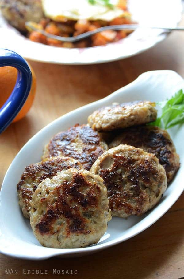 Paleo Apple Onion Breakfast Sausage - An Edible Mosaic