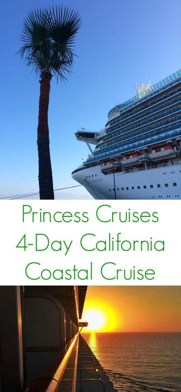 Princess Cruises 4 Day California Coastal - The Lemon Bowl