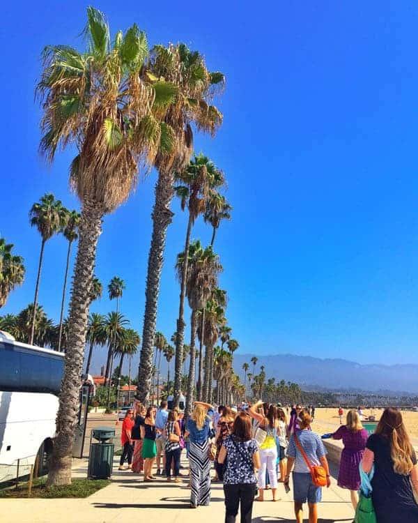 Santa Barbara Beach - The Lemon Bowl