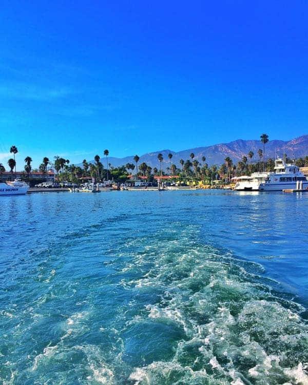 Santa Barbara Sailing Away - The Lemon Bowl