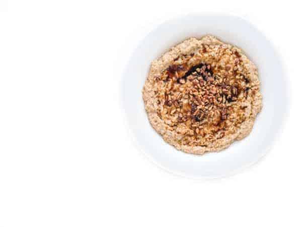 Slow Cooker Ginger Bread Oatmeal - The Lemon Bowl