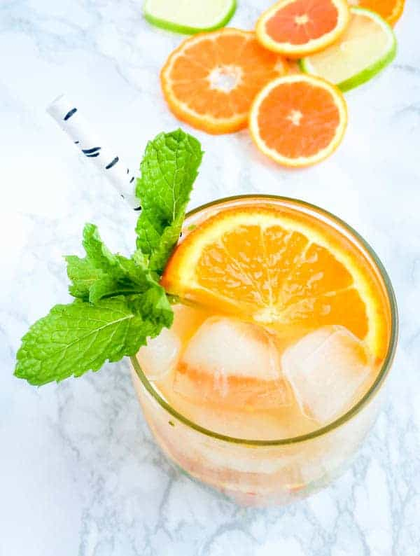 Orange Blossom Citrus Mojito Recipe - The Lemon Bowl