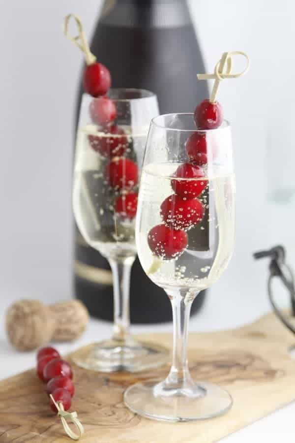 Sparkling Holiday Cocktail - Bellalimento