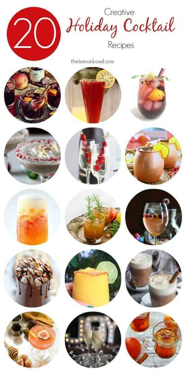 20 Creative Holiday Cocktail Recipes - The Lemon Bowl