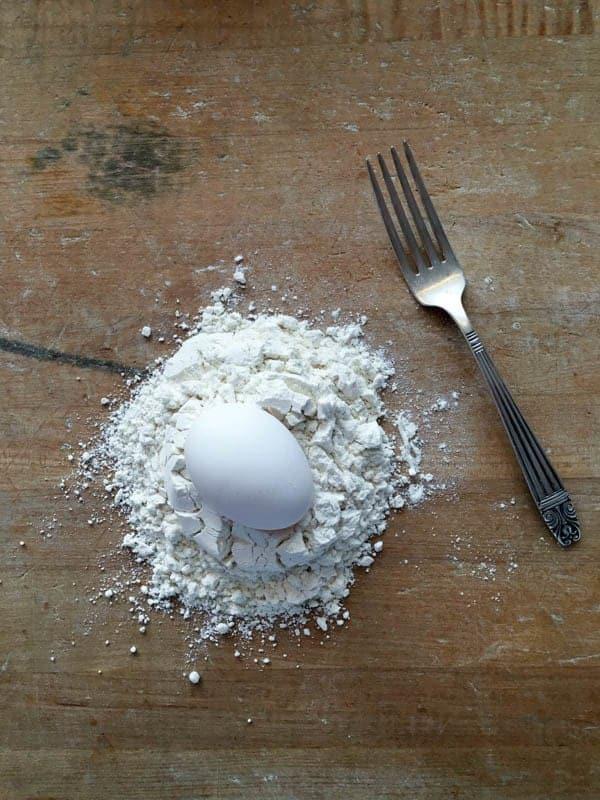 Pasta Class Egg and Flour - The Lemon Bowl