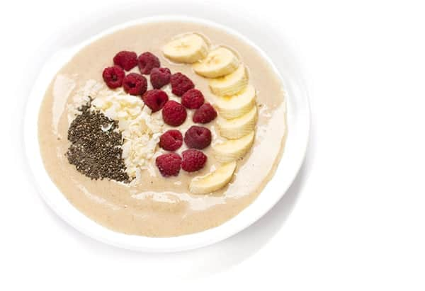 Chai Smoothie Breakfast Bowl - Protein-rich healthy breakfast recipe