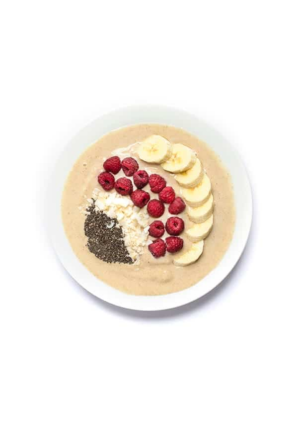 Chai Tea Smoothie Bowl - protein-packed breakfast recipe