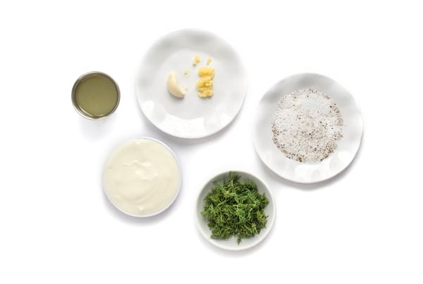Dill Ranch Yogurt Ingredients