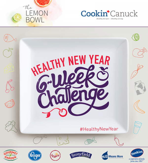 Healthy New Year Six Week Challenge Logo - FINAL