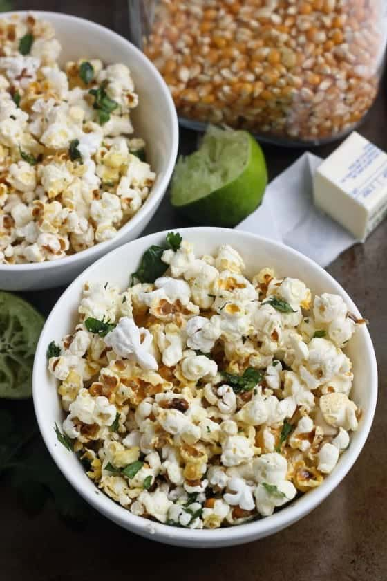 cilantro-lime-popcorn- bake your day