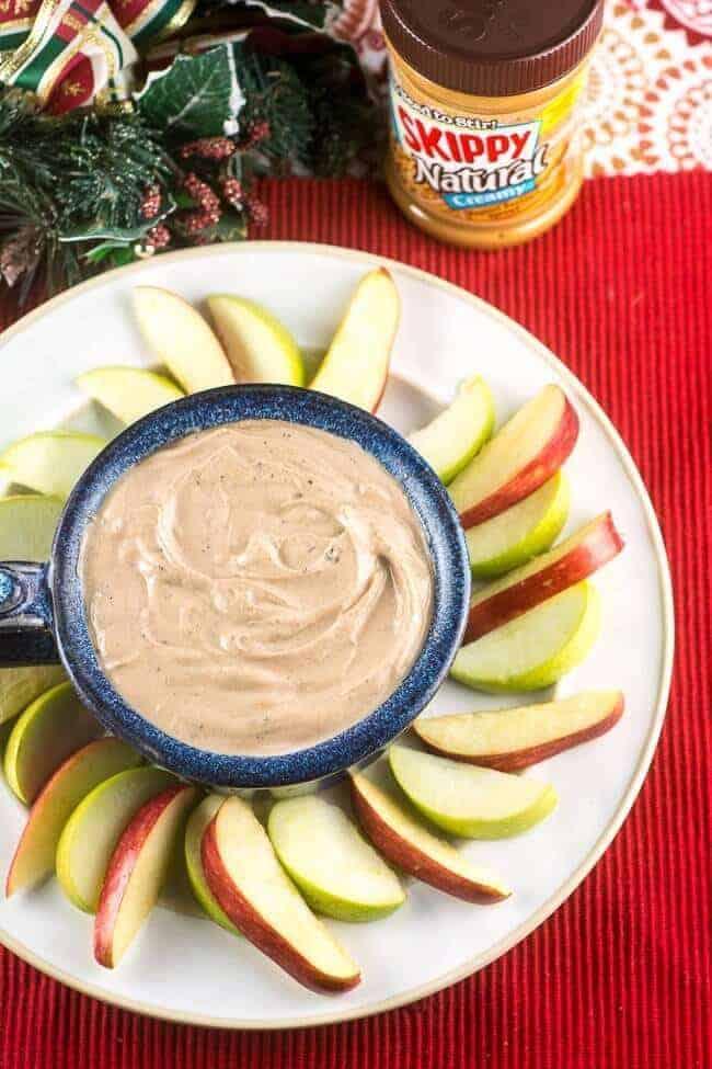 Chocolate-Peanut-Butter-Dip- Flavor Mosaic