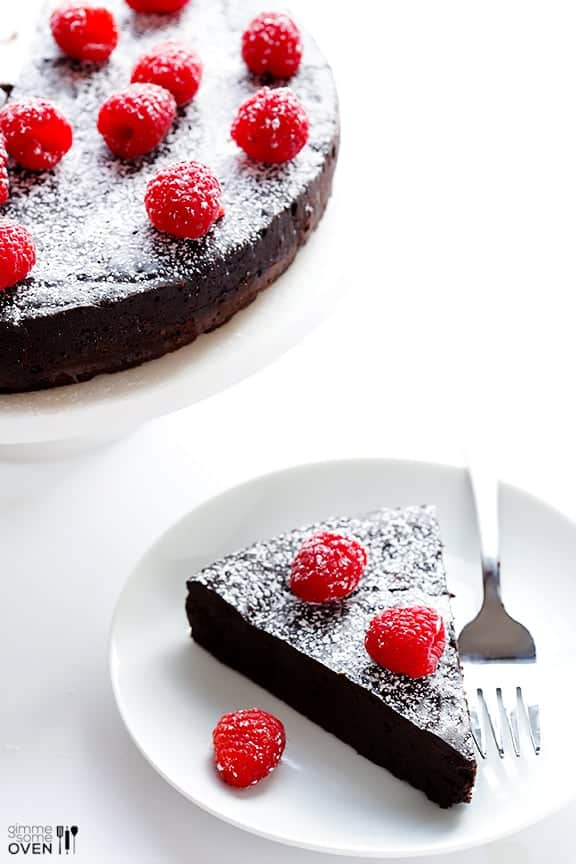 Flourless-Chocolate-Cake - Gimme Some Oven