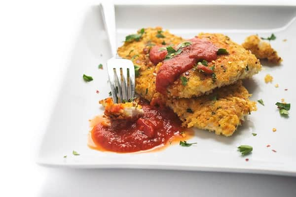 Parmesan Crusted Chicken - A fast and easy chicken recipe