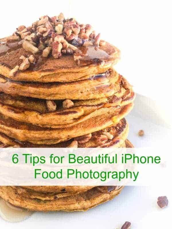 6 Tips for iPhone Food Photography - tips for capturing beautiful images of your food with an iPhone