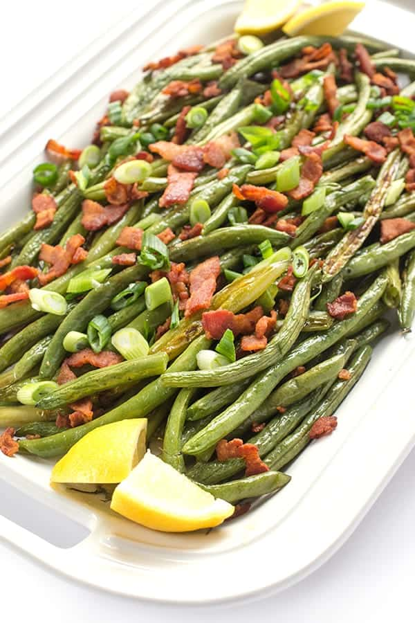 Green Beans with Bacon - a quick and delicious side dish recipe