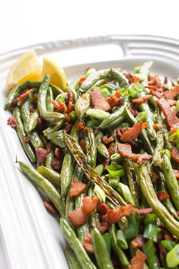 Green Beans with Bacon - a simple and easy side dish recipe